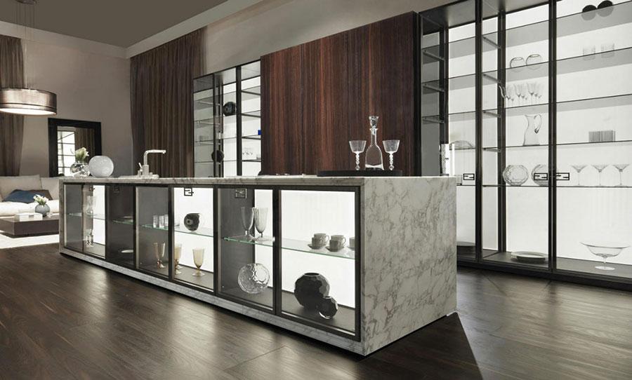 Modello di cucina di design Fendi n.03