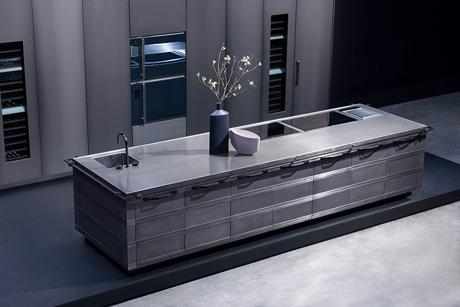 Modello di cucina di design Fendi n.04
