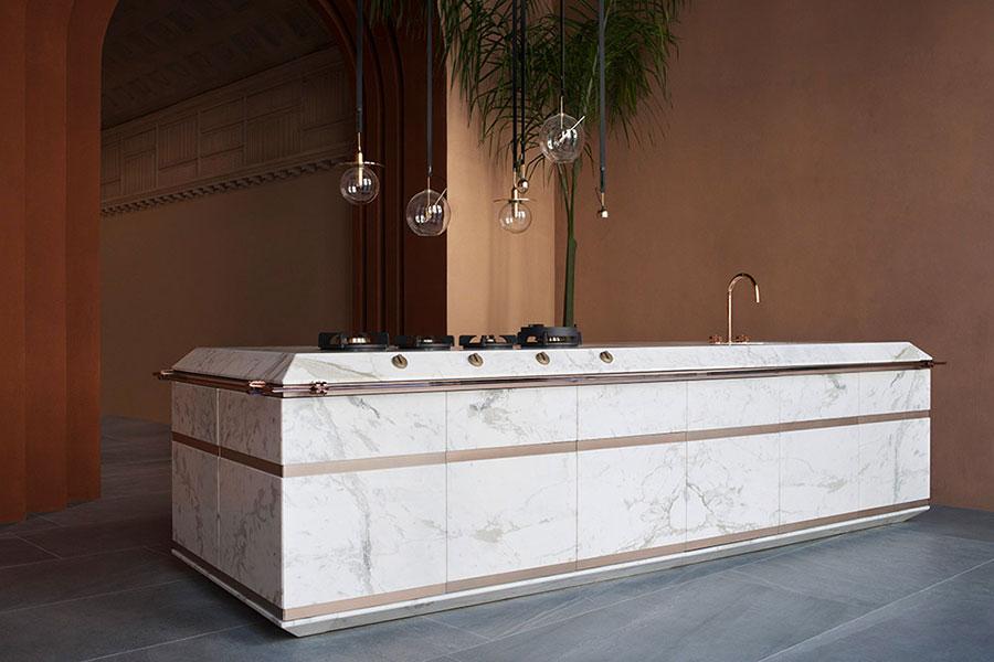 Modello di cucina di design Fendi n.05