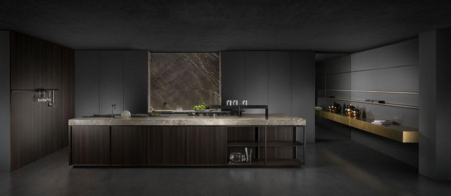 Modello di cucina di design Key n.01