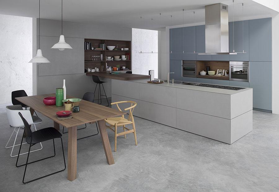 Modello di cucina di design Key n.04