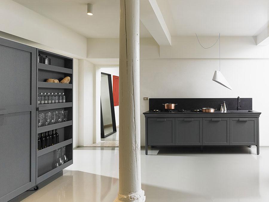 Modello di cucina di design Key n.05