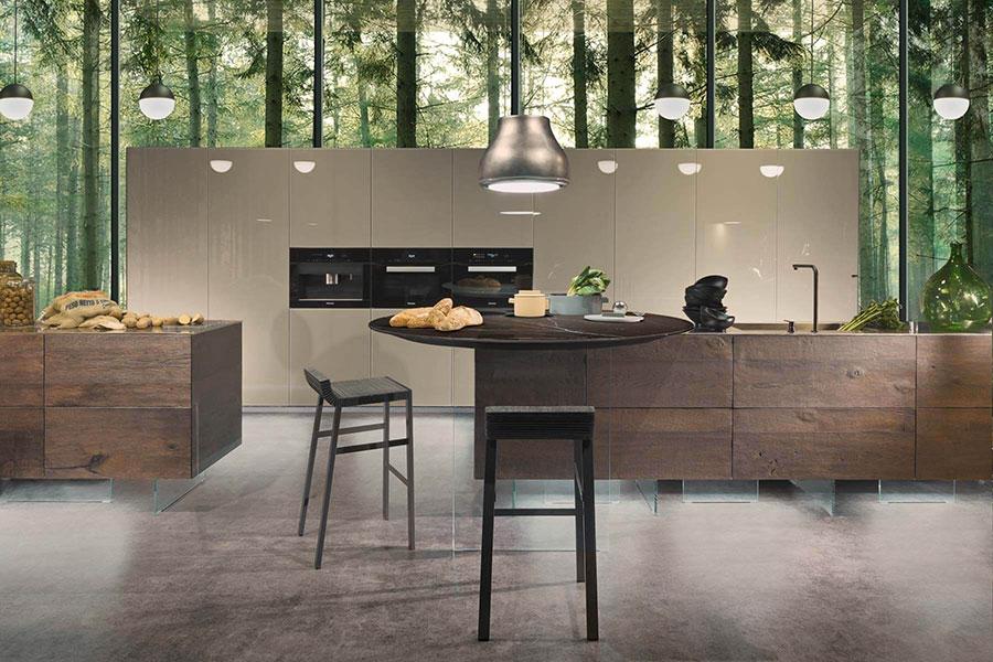 Modello di cucina di design Lago n.01