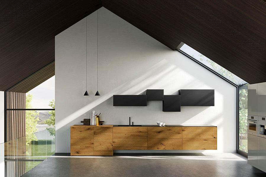 Modello di cucina di design Lago n.02