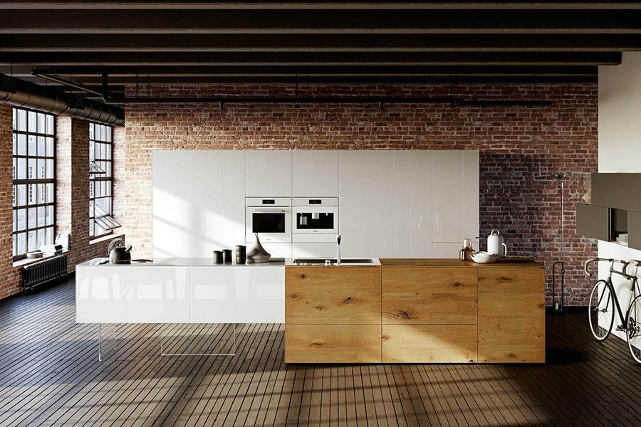 Modello di cucina di design Lago n.05