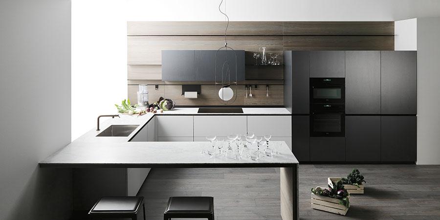 Modello di cucina di design Valcucine n.01