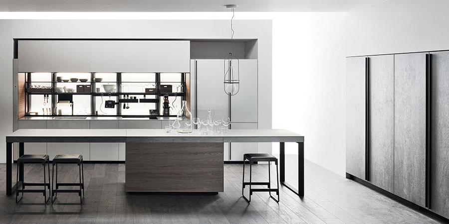 Modello di cucina di design Valcucine n.02