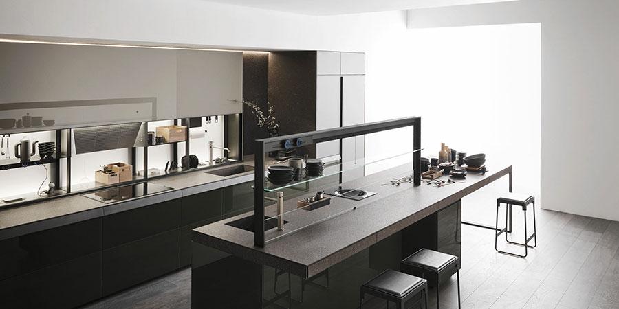 Modello di cucina di design Valcucine n.03