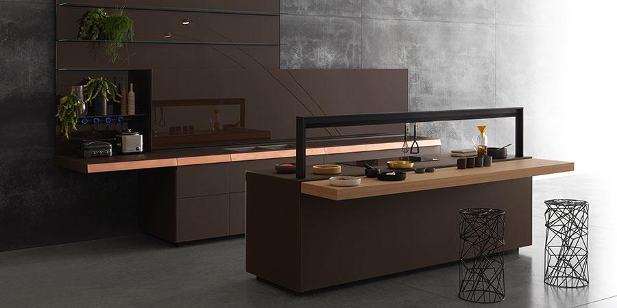 Modello di cucina di design Valcucine n.04