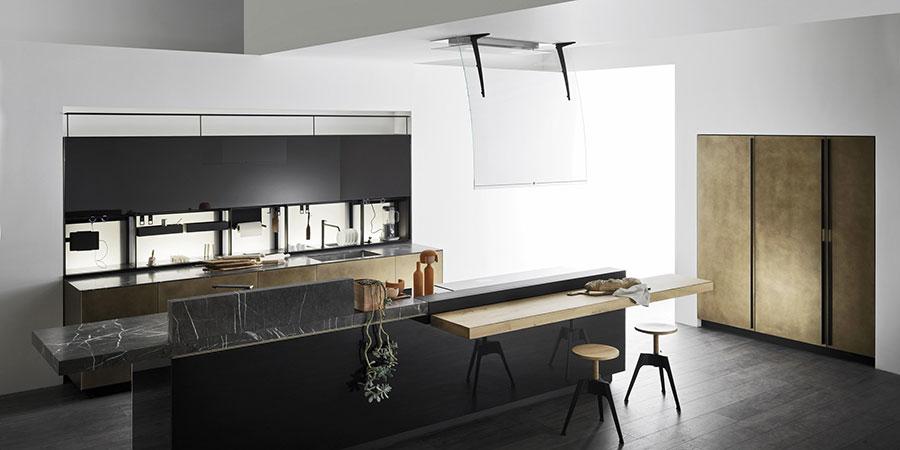 Modello di cucina di design Valcucine n.05