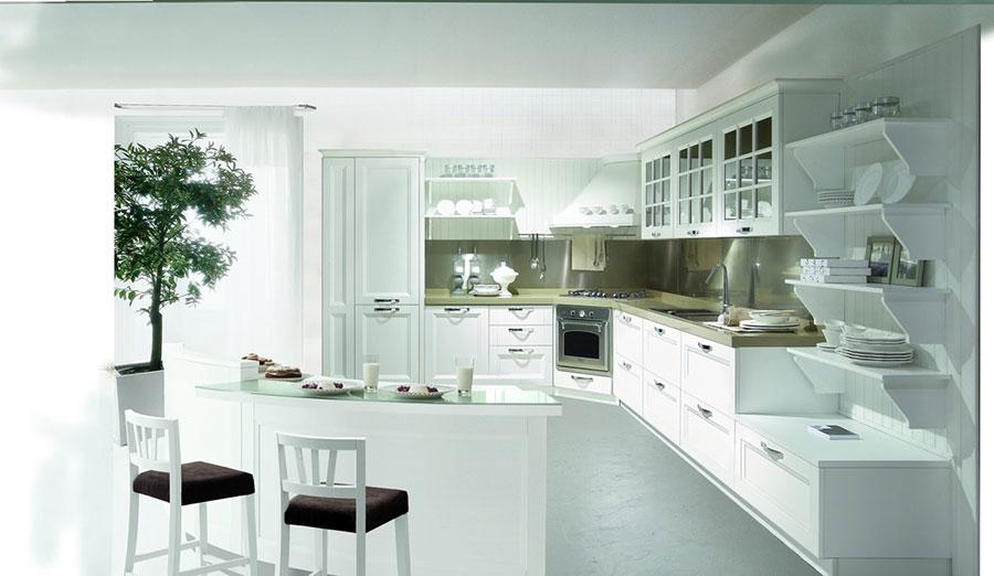 Modello di cucina in stile contemporaneo classico n.04
