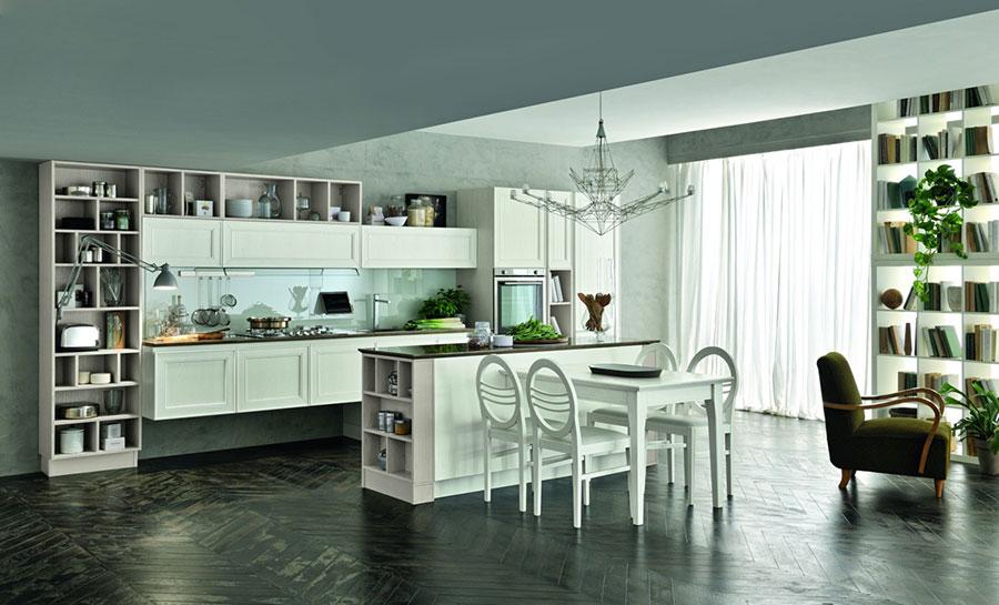 Modello di cucina in stile contemporaneo classico n.05