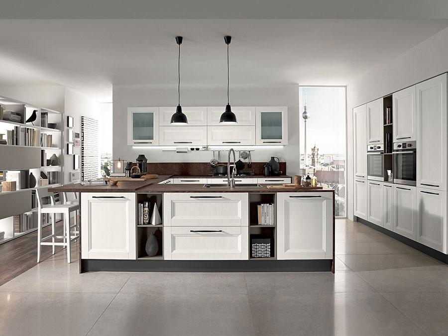 Modello di cucina in stile contemporaneo moderno n.02