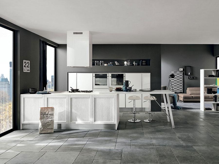 Modello di cucina in stile contemporaneo moderno n.03