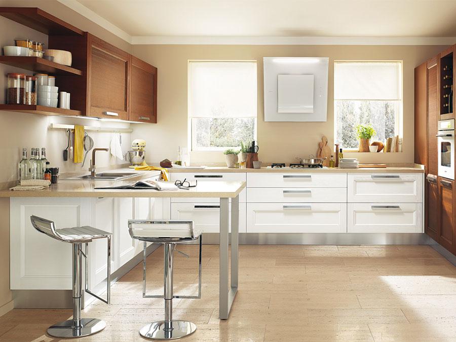 Modello di cucina in stile contemporaneo moderno n.04