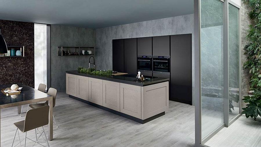 Modello di cucina in stile contemporaneo moderno n.12