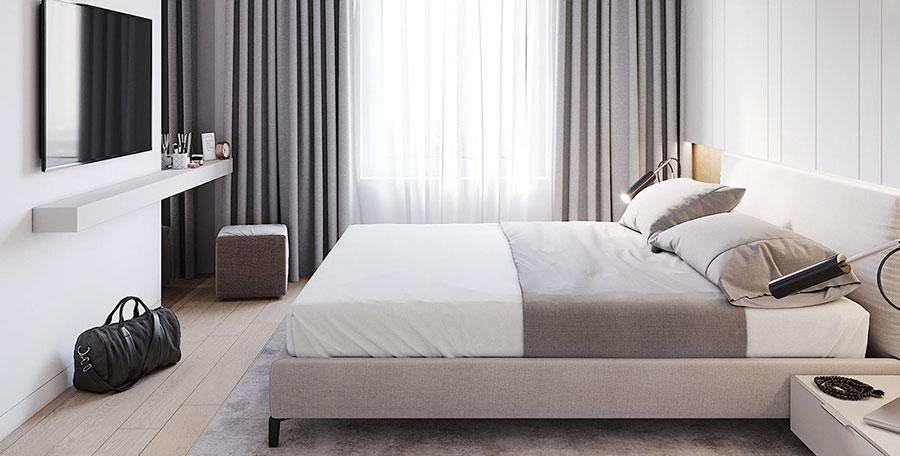 Come arredare una camera da letto di 9 mq