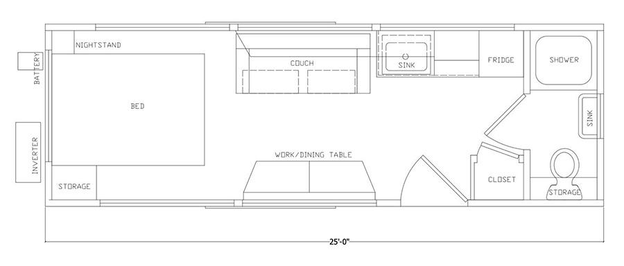 Progetto tiny house Ikea