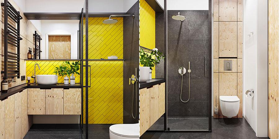 Idee per arredare un bagno di 2 mq n.05