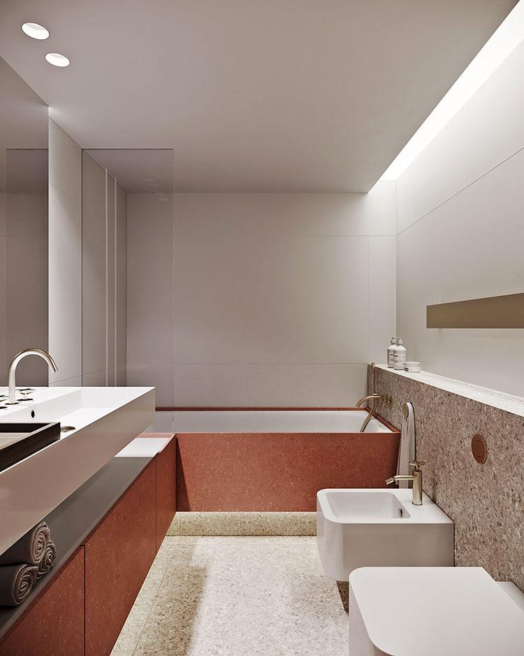 Idee per arredare un bagno di 2 mq n.06
