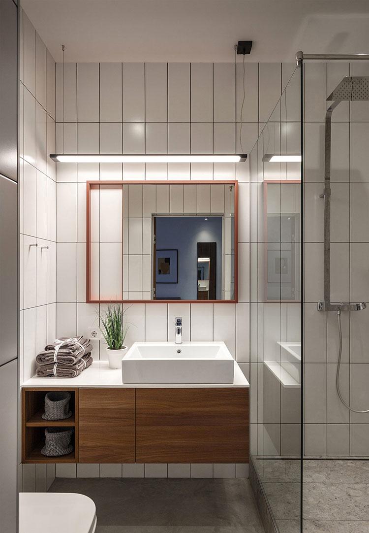 Idee per arredare un bagno di 2 mq n.08