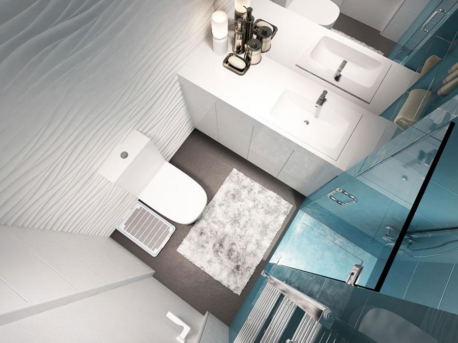 Idee per arredare un bagno di 2 mq n.10