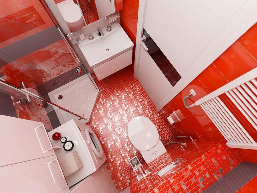 Idee per arredare un bagno di 2 mq n.11