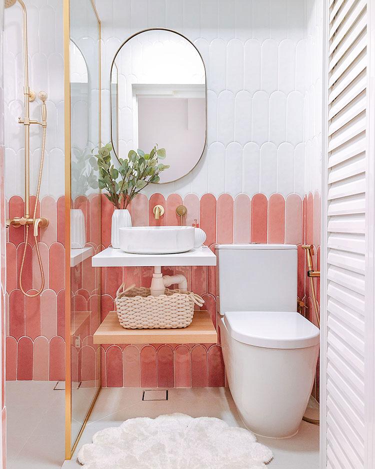 Idee per arredare un bagno di 2 mq n.12