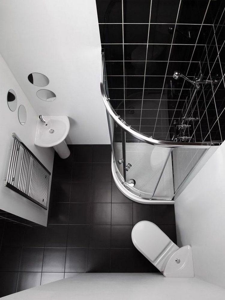 Idee per arredare un bagno di 2 mq n.14