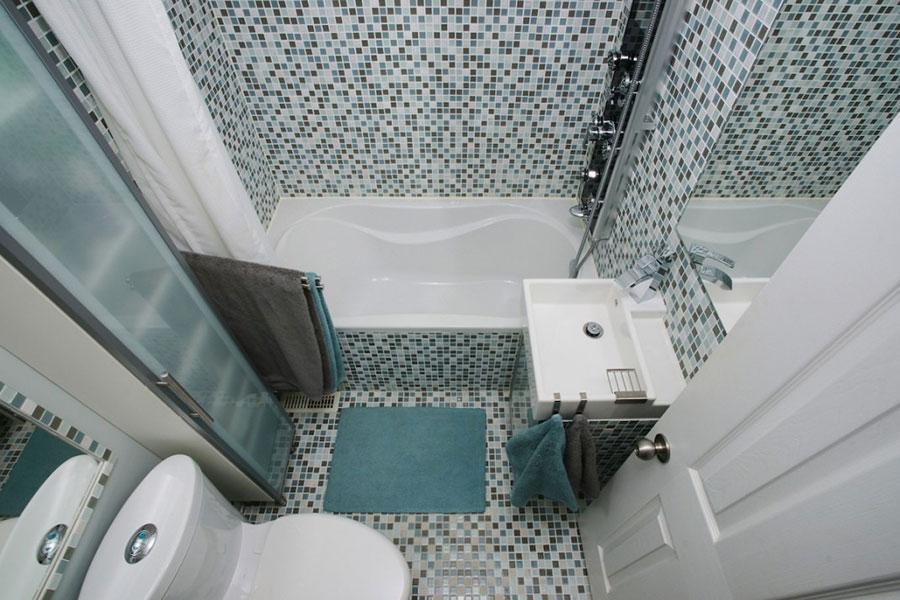 Idee per arredare un bagno di 2 mq n.17