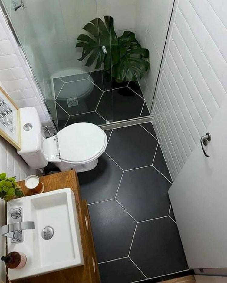 Idee per arredare un bagno di 2 mq n.19