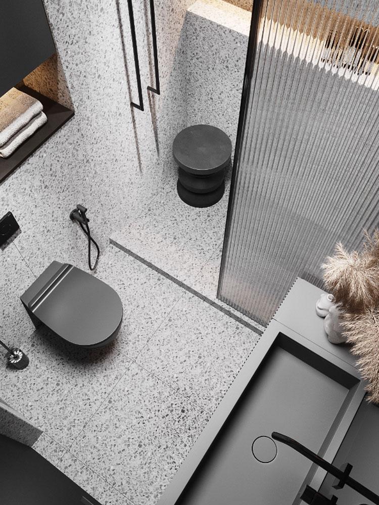 Idee per arredare un bagno di 2 mq n.21