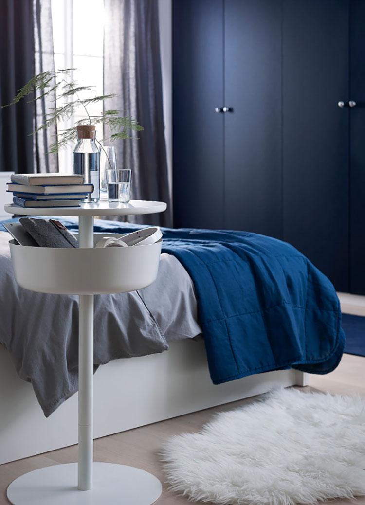Modello di comodino piccolo Ikea n.01