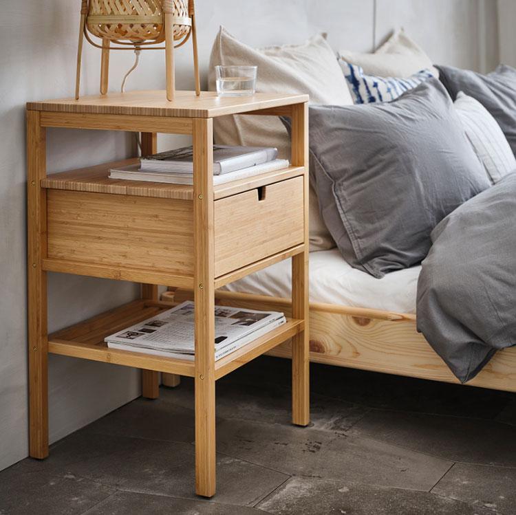 Modello di comodino piccolo Ikea n.02