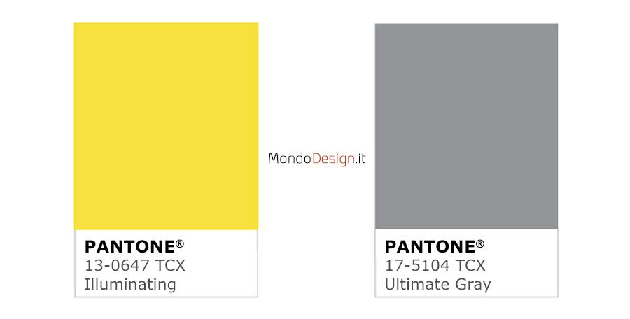 Identificazione colori Ultimate Gray e Illuminating