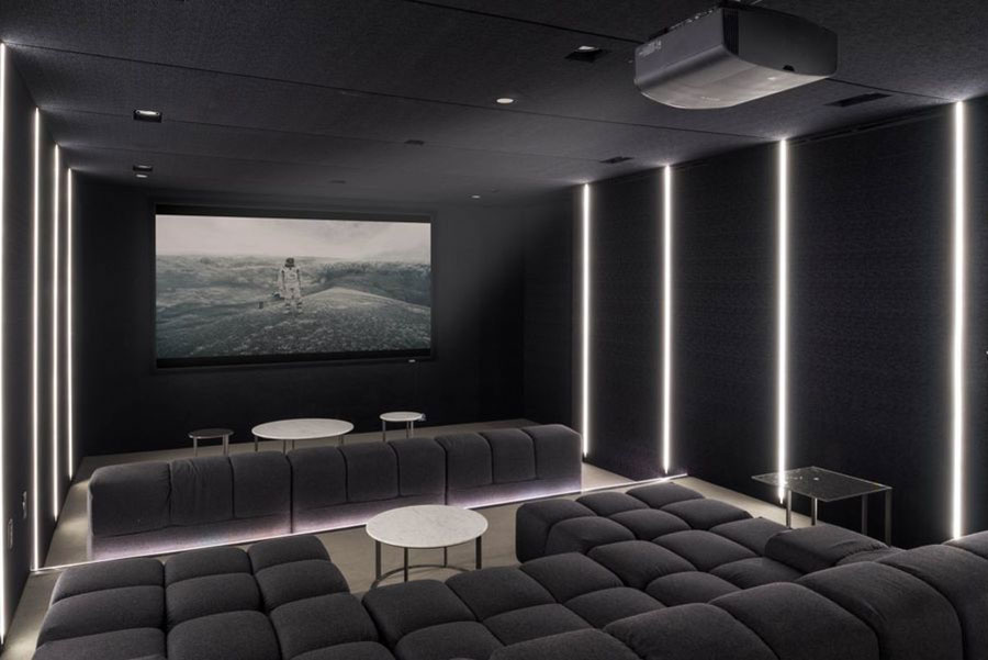 Idee per realizzare una sala cinema in casa n.01