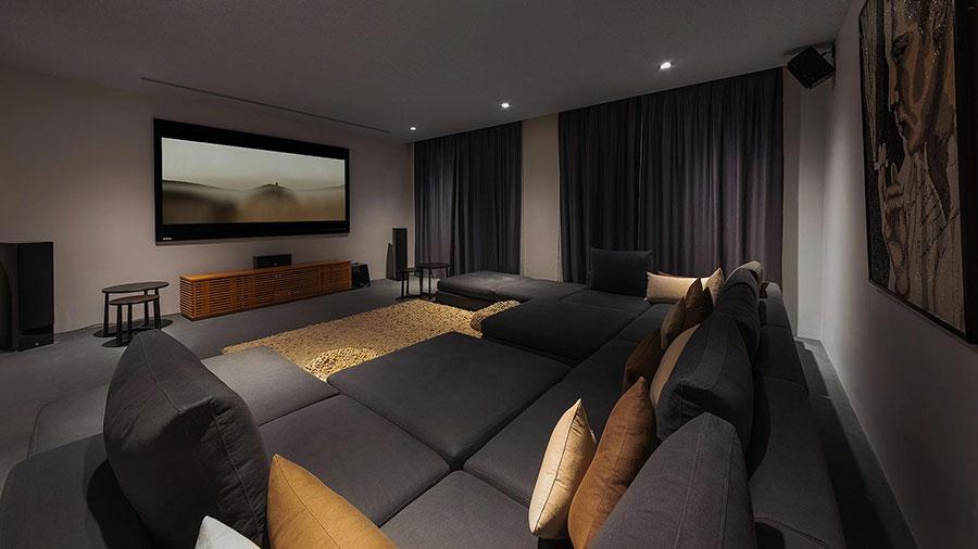 Idee per realizzare una sala cinema in casa n.03