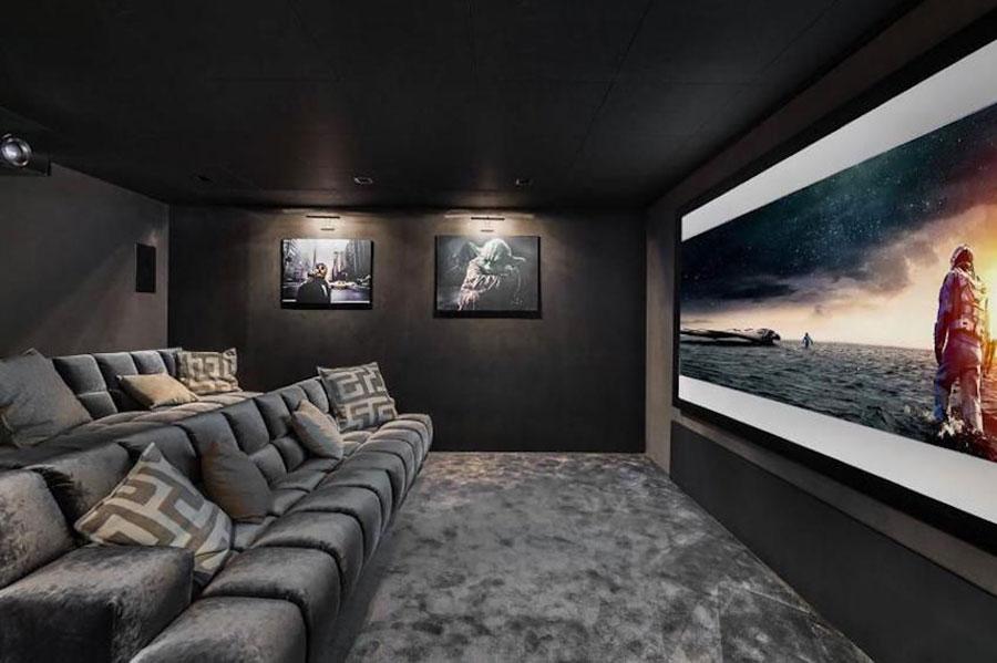 Idee per realizzare una sala cinema in casa n.05