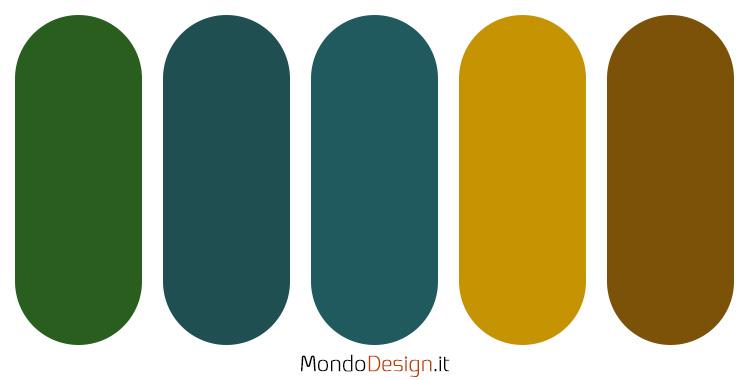 Palette colore ocra n.01