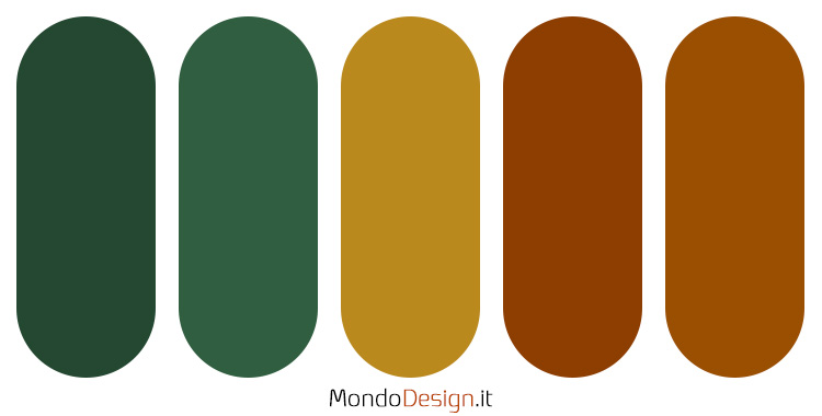Palette colore ocra n.02