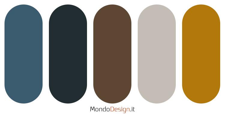Palette colore ocra n.03