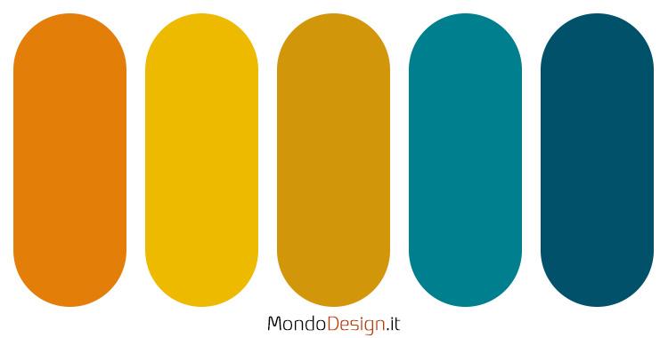 Palette colore ocra n.04