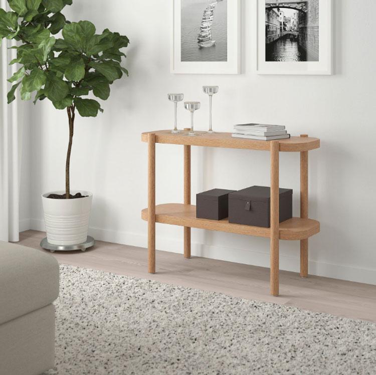 Modello di consolle per ingresso Ikea n.01