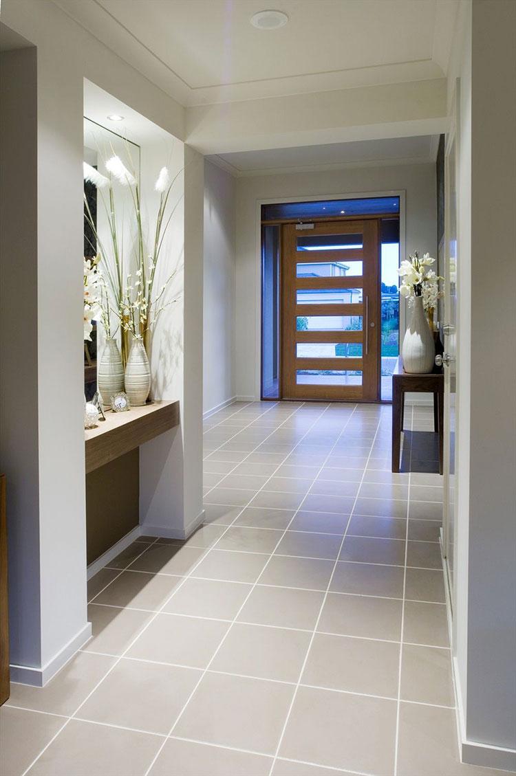 Idee per arredare un corridoio in ingresso n.07