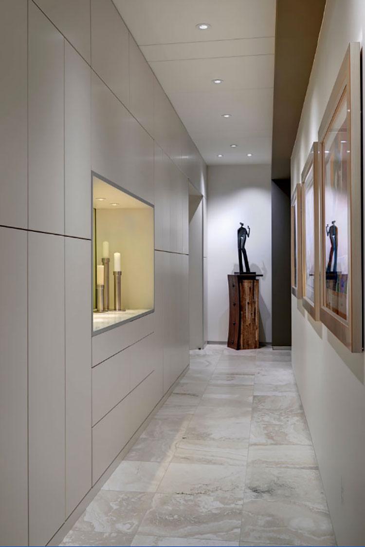 Idee per arredare un corridoio in ingresso n.08