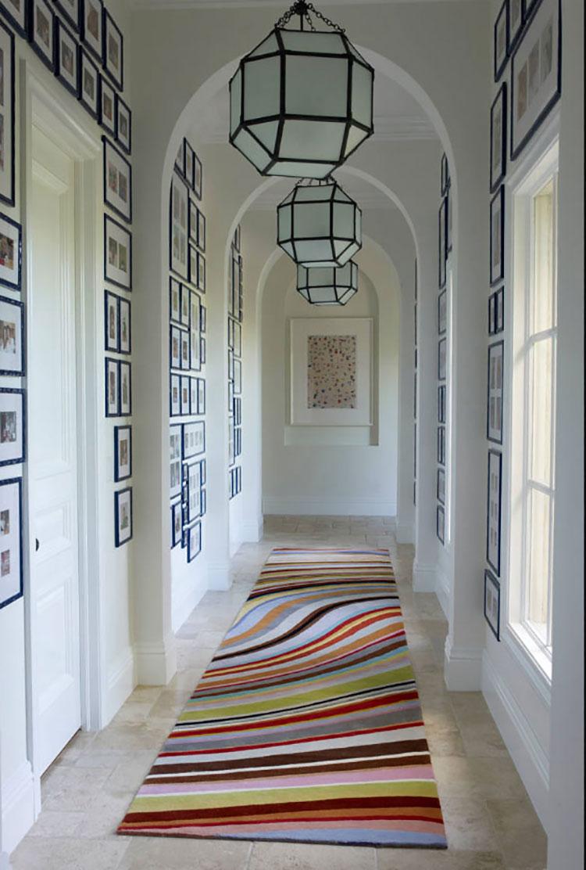 Idee per arredare un corridoio in ingresso n.12