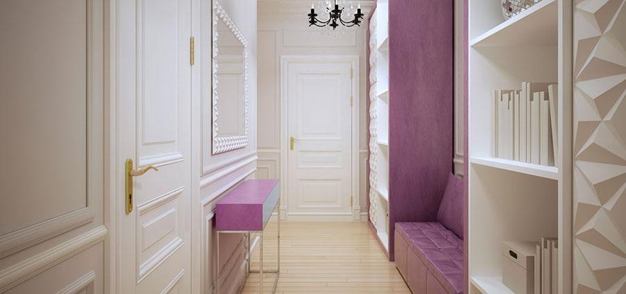 Idee per arredare un corridoio in ingresso n.23