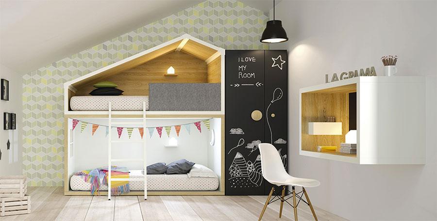 Camerette moderne per bambini