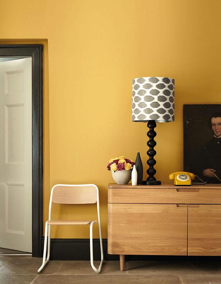 Colore giallo ocra per pareti n.01