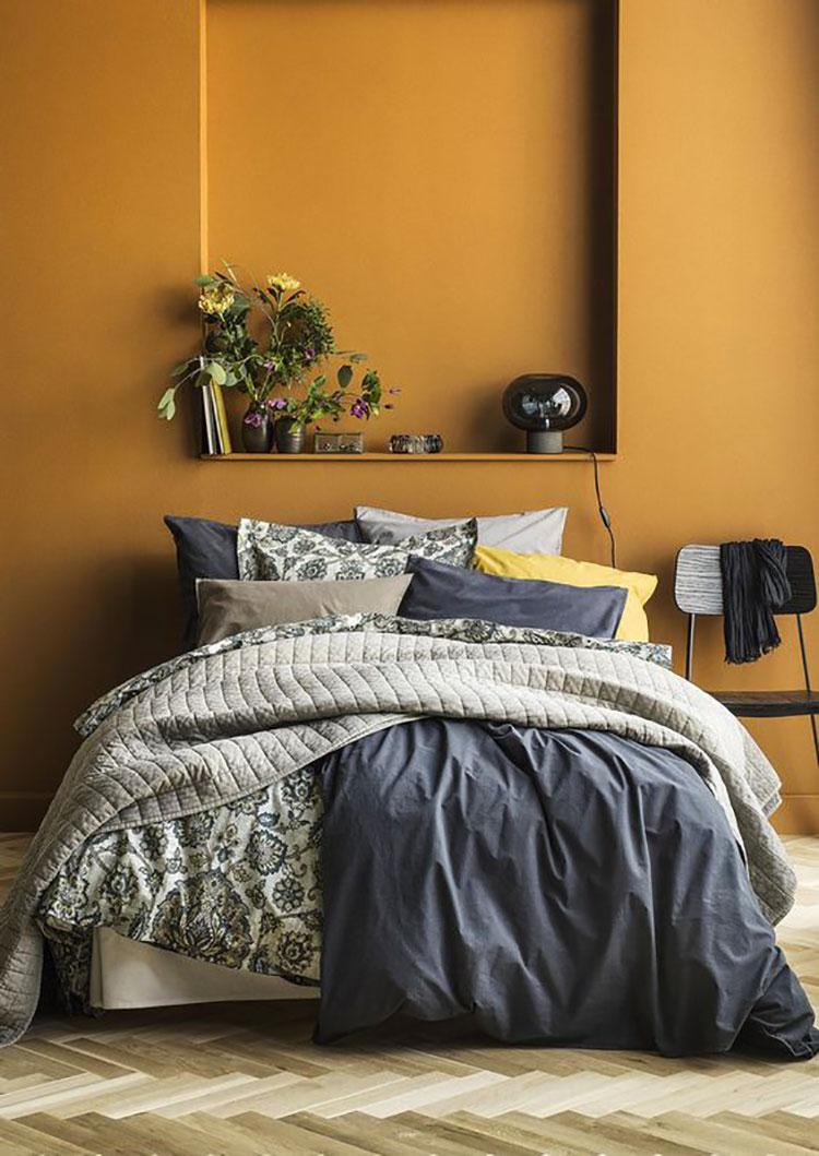 Colore giallo ocra per pareti n.03